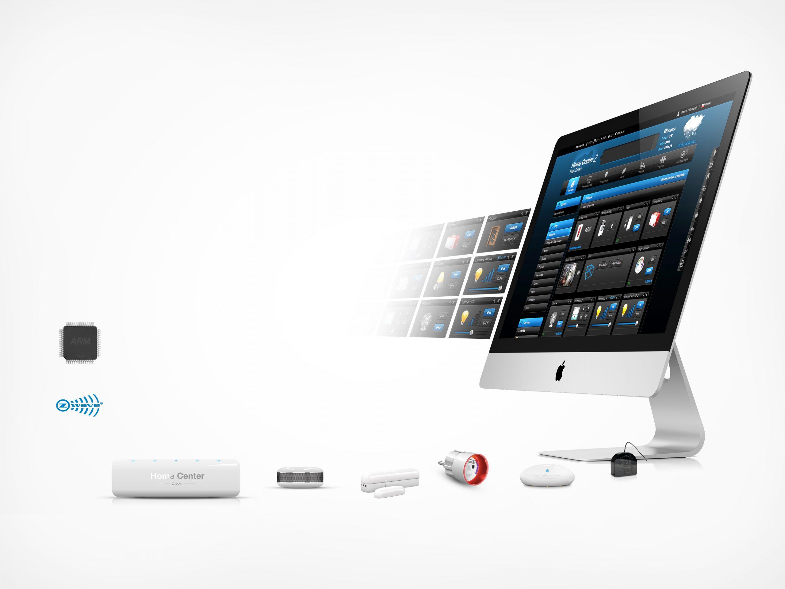 Bộ điều khiển trung tâm nhà thông minh smarthome điều khiển bằng giọng nói fibaro HCL