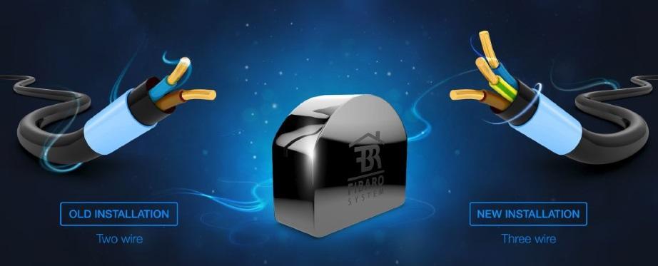 Bộ điểu chỉnh cường độ sáng nhà thông minh smarthome Dimmer FIBARO