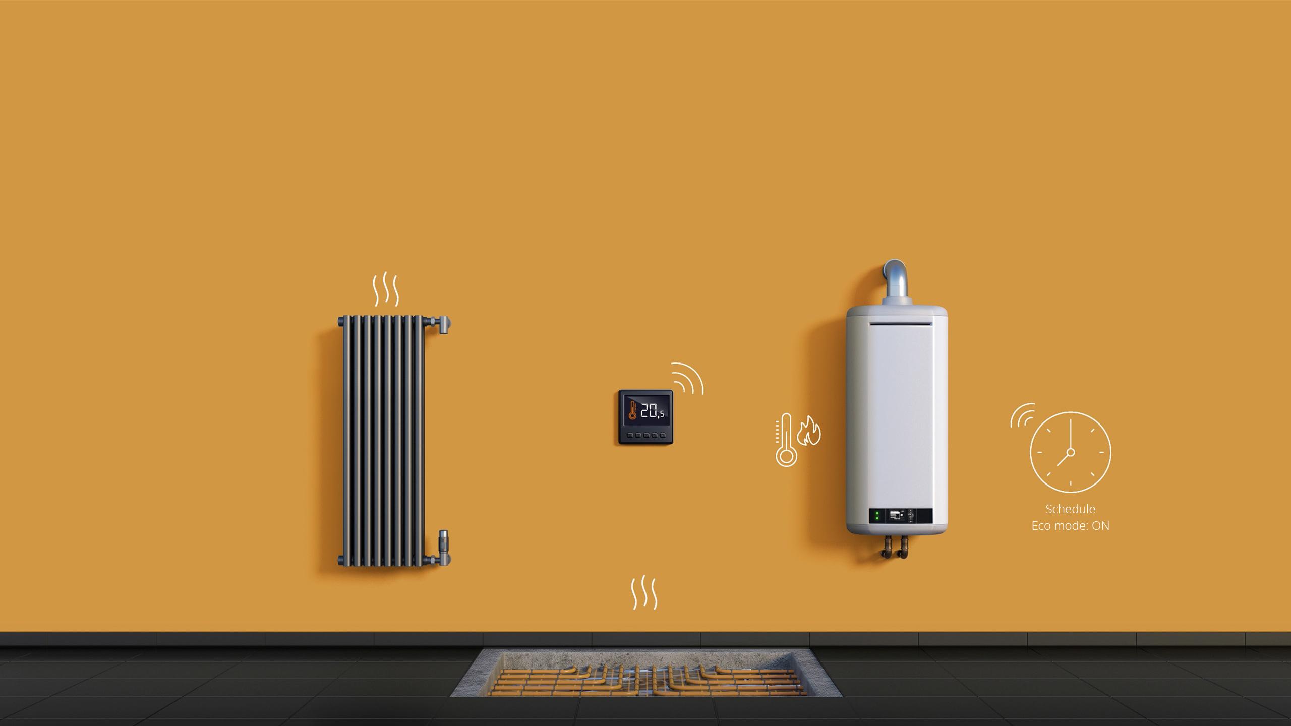 Bộ tích hợp thông minh nhà thông minh smarthome Smart Implant FIBARO
