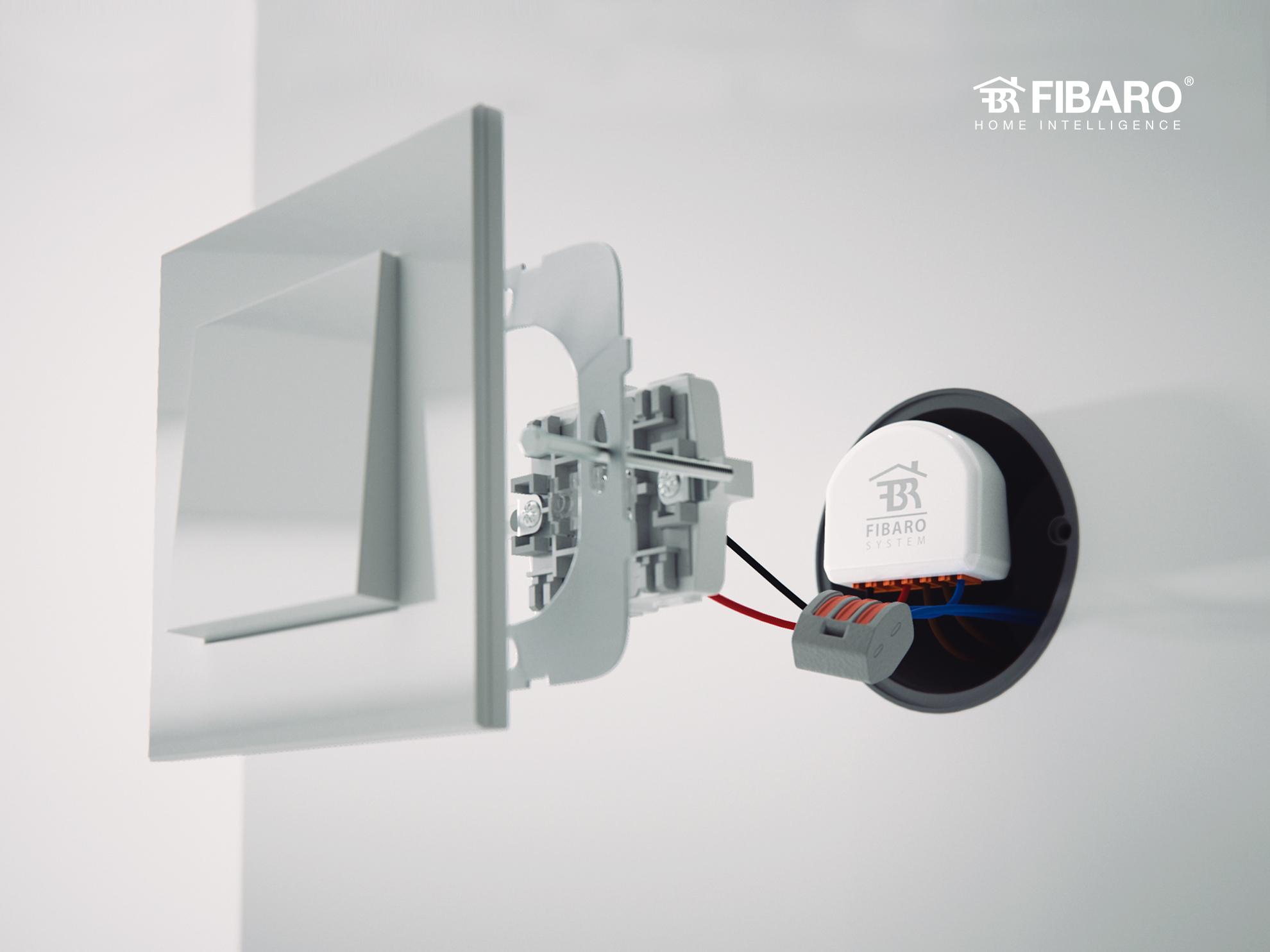 Double Switch nhà thông minh smarthome Châu Âu FIBARO